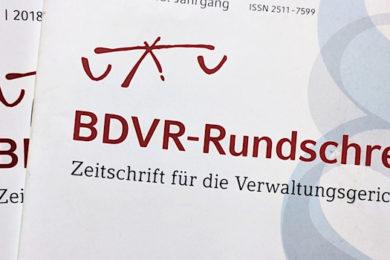 BDVR-Rundschreiben