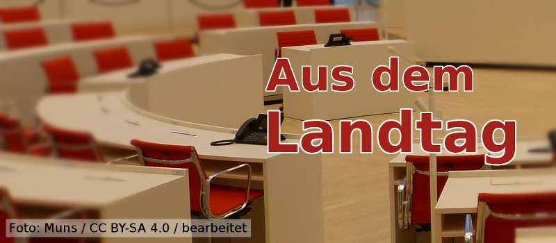 Aus dem Landtag