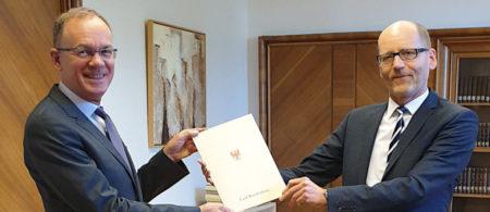 Neuer Präsident des Verwaltungsgerichts Frankfurt (Oder)