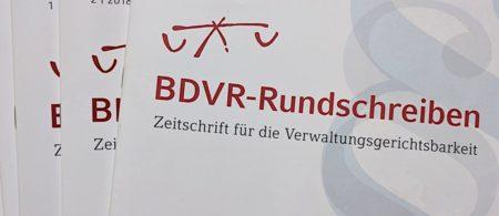 BDVR-Rundschreiben 4/2020